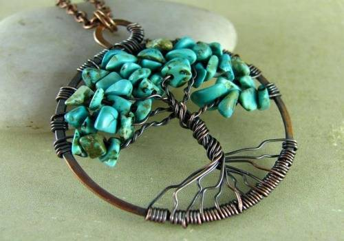 The tree of life necklaces are great gift ideas