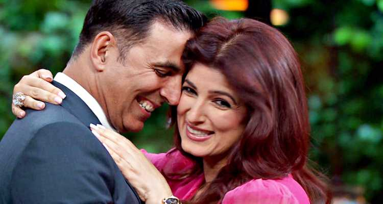 twinkle and akshay together