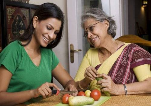 A woman can develop heart disease if she is living with the in-laws