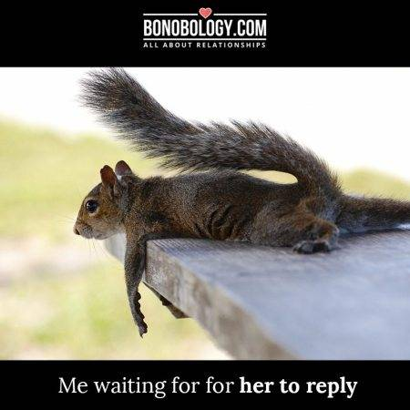 waiting for reply