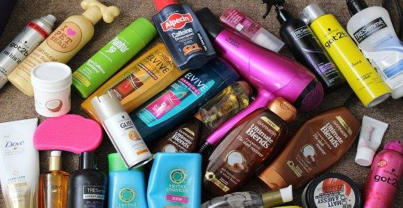 woman hair products