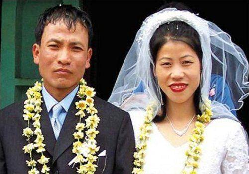 Mary kom marriage