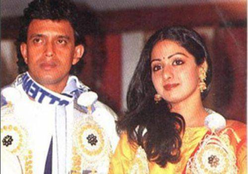 Sridevi with mithun