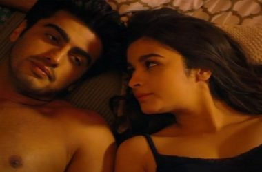 alia and arjun in bed