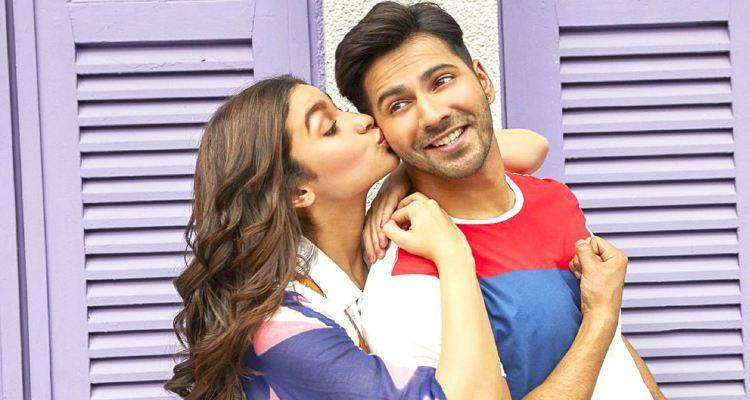 alia kissing varun