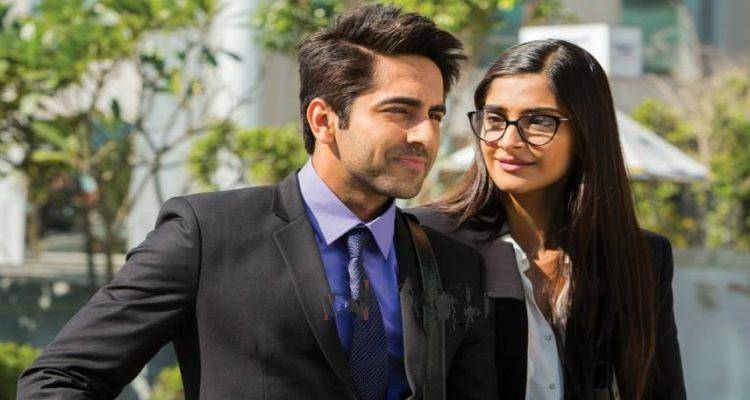 ayushman and sonam in bewakoofiyaan