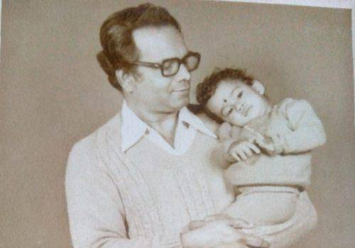 father with child