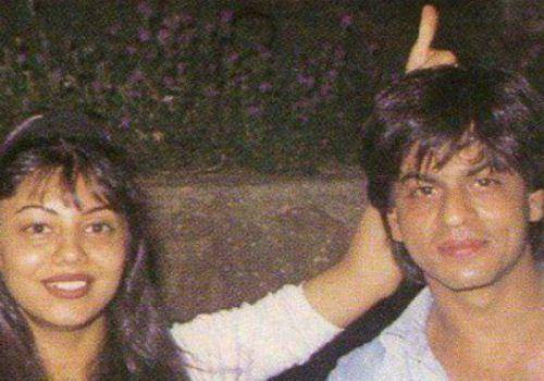 gauri doing fun with shahrukh