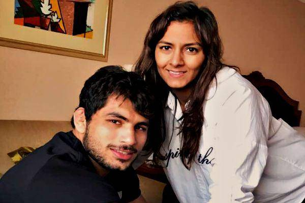 geeta phogat with husband