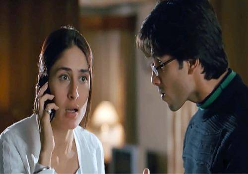 kareena abusing in jab we met