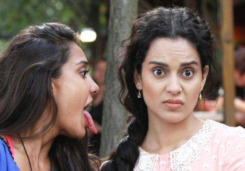 liza and kangna in queen