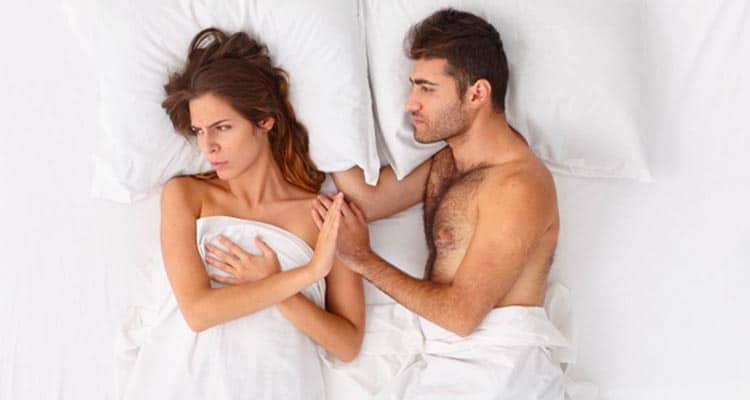 does your relationship need a break - no intimacy