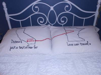 pillow showing long distance relationship-long distance relationship memes