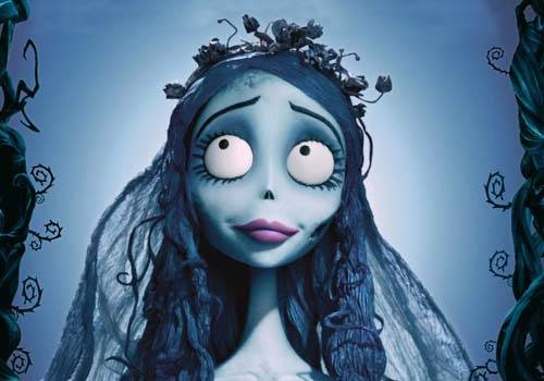 scared bride caricature