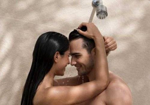 shower together