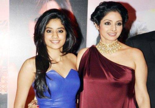 sridevi with jhanvi