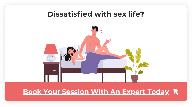 dissatisfied with sex life