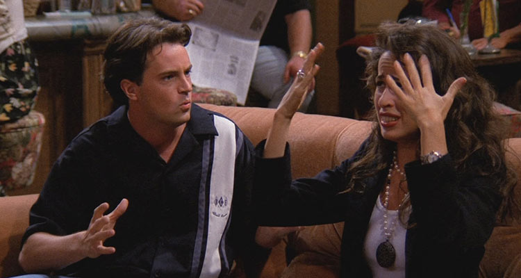 They get drunk when Joey leaves to have sex with his date.