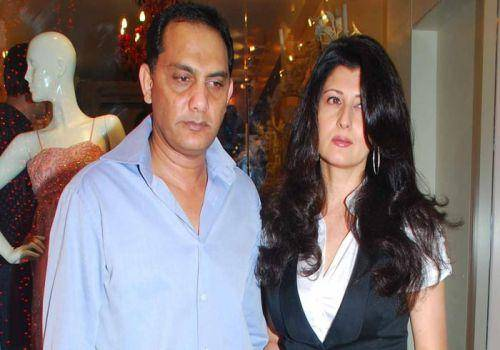 Mohammad Azharuddin and wife