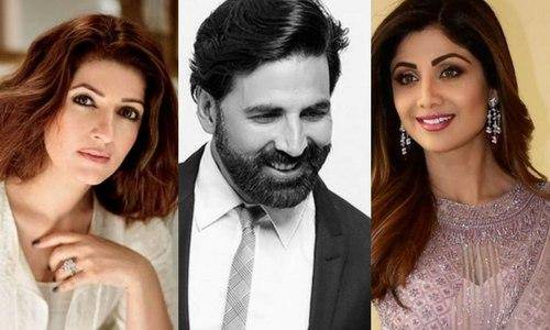 akshay twinkle and shilpa