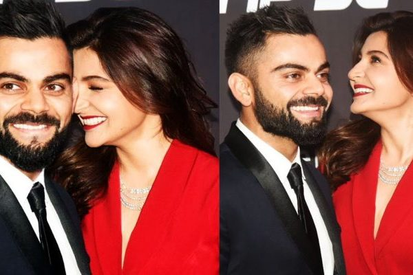 anushka and virat in at event