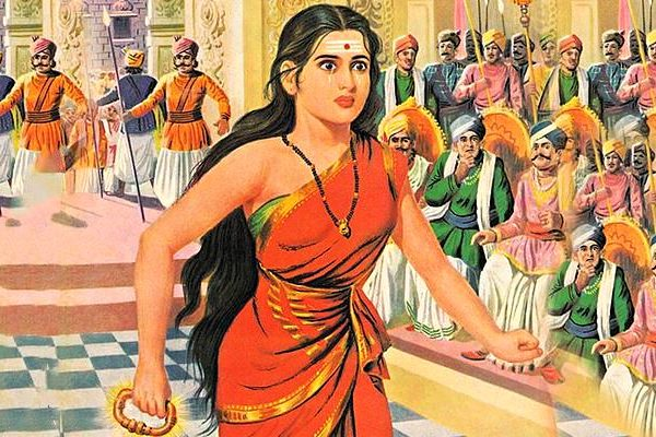 kannaki takes revenge for her husband's death