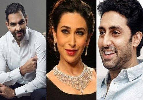 karishma-abhishek-and-sanjay