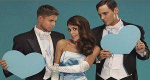 lady with two man