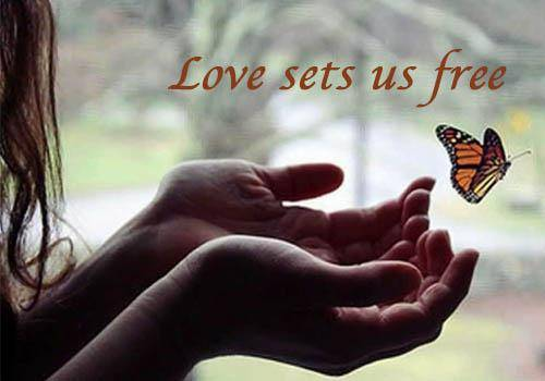 Love-sets-us-free-