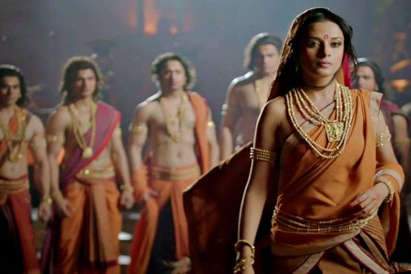 Story of how Draupadi married five men