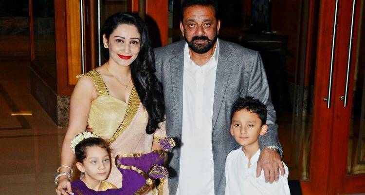 manyata with sanjay dutt