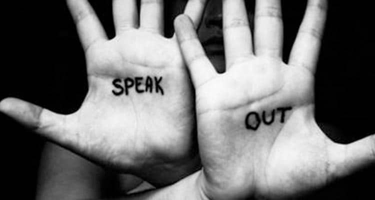 Speak out on hands