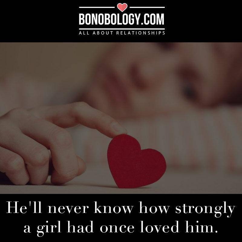 A girl had once loved him