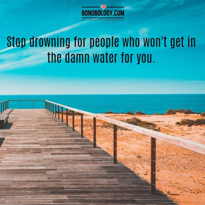 Stop drowning for people