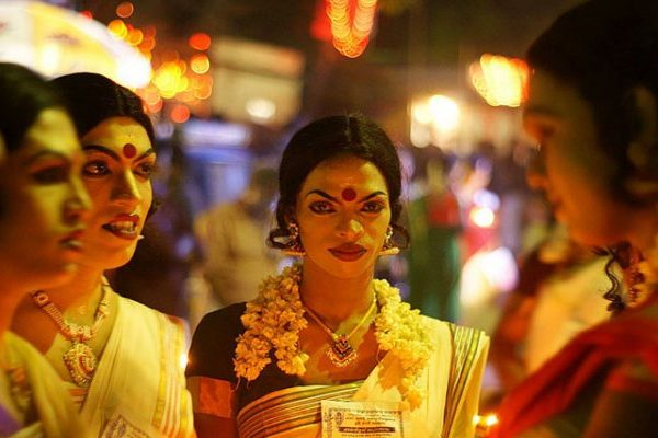 Transgender man in kerala temple