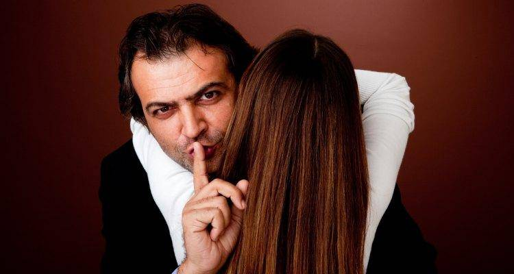 A cheating husband comes up with a number of excuses