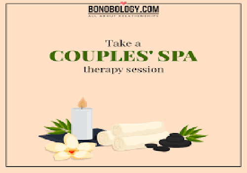couple spa date