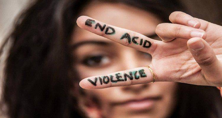 end acid attack