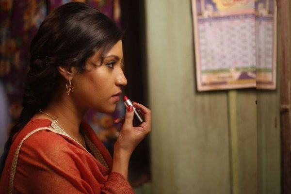konkana sharma in lipstick under my burkha