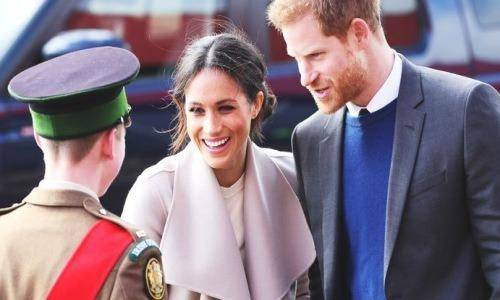 Meghan and harry on tour
