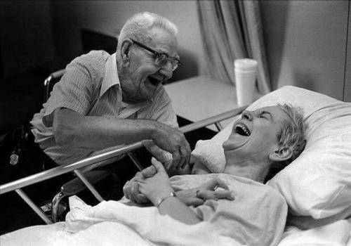 humour could be one of the old couple relationship goals