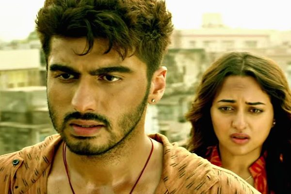 Still from Tevar. When you have a breakup let them go.