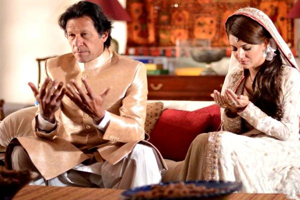 Imraan khan and Reham khan