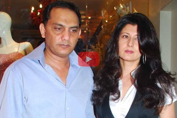 Sangeeta and azharuddin