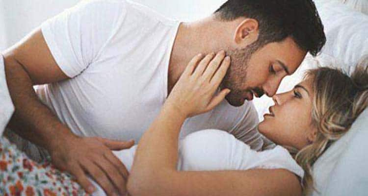 signs he loves you when making love