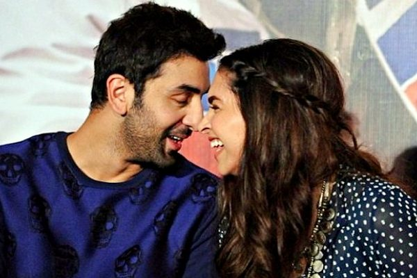 cute ranbir and deepika
