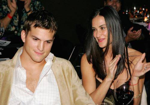 demi moore and aston kutcher