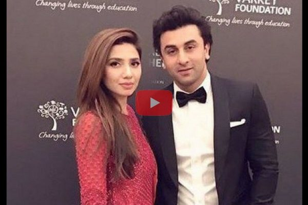 ranbir with mahira