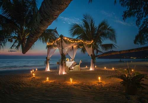 Romantic place for date