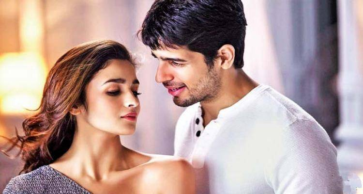 saiddharth and alia in kapoor and sons